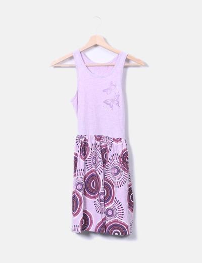 Robe imprimée jupe Desigual