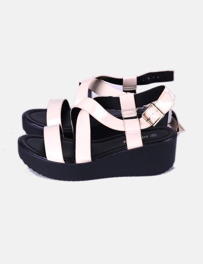Sapatos de cunha Camelia