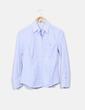 Camisa de rayas azules y blancas Carolina Herrera