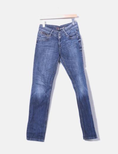 Pantalon en denim ajusté edc