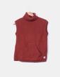 Jersey color teja de cuello sin mangas Astore