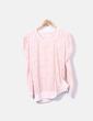 Camiseta rosa encaje Primark