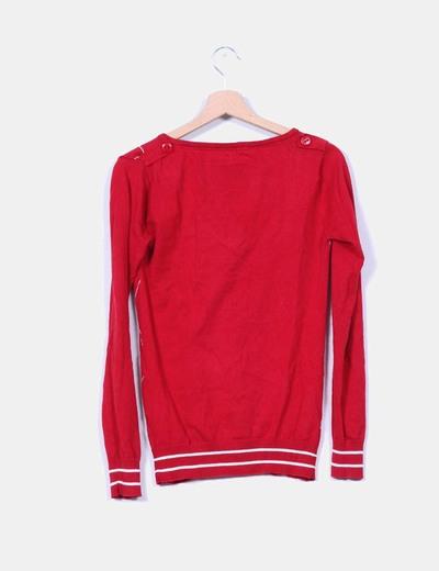 Jersey rojo de rombo