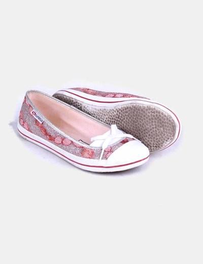 Zapato combinada glitter