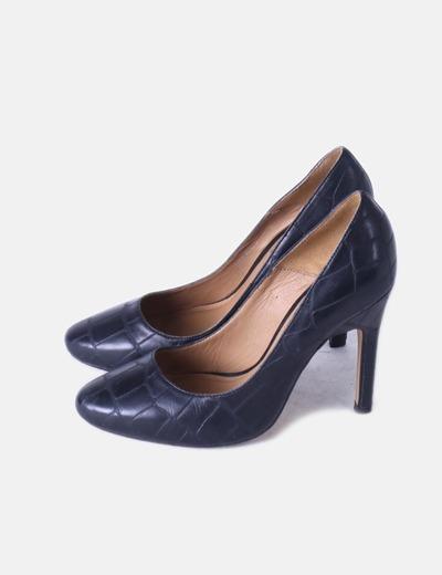 diseño atemporal obtener online Precio pagable Zapato azul marino de tacón