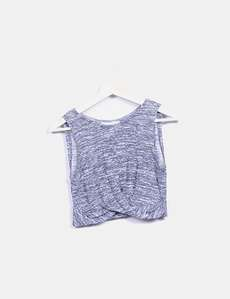 38923d965e Top azul jaspeado Lefties