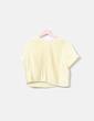 Blusa plisada amarilla Bimba&Lola