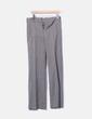 Pantalón cuadros  hebilla parte trasera Massimo Dutti
