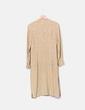 Conjunto de túnica y pantalón dorado Zara