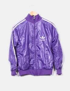 chaqueta adidas lila