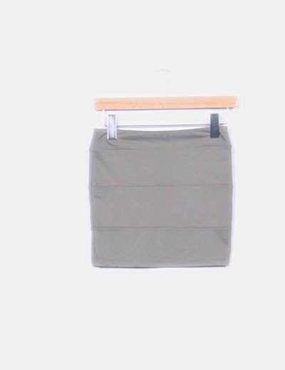 Mini-jupe verte Inside