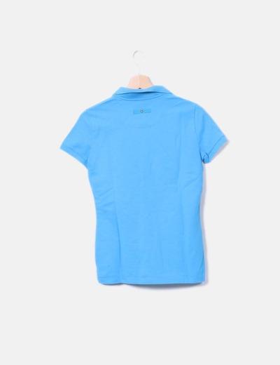 1f4441d2d2 Pedro del Hierro Polo azul manga corta (descuento 74%) - Micolet