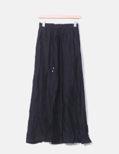 Falda maxi negro H&M