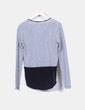 Jersey fino de rayas combinado Zara