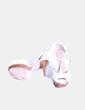 Zapato blanco peep toe Gloria Ortiz