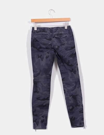 2019 profesional estilo popular sobornar auténtico Pantalón camuflaje azul