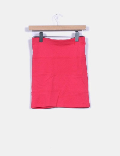 Mini falda rosa