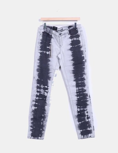 Jeans denim gris slim fit Noisy May