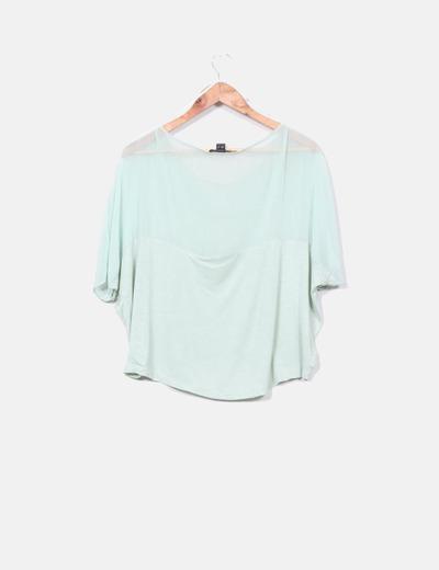 Blusa verde mint