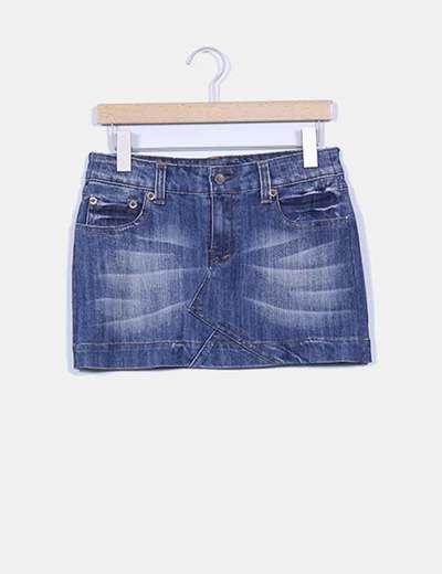 Mini-falda bolsillos traseros NoName