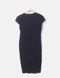 Vestido midi negro Primark