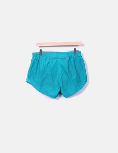 Pantalon corto verde
