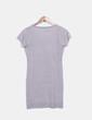 Vestido pichi tricot gris NoName