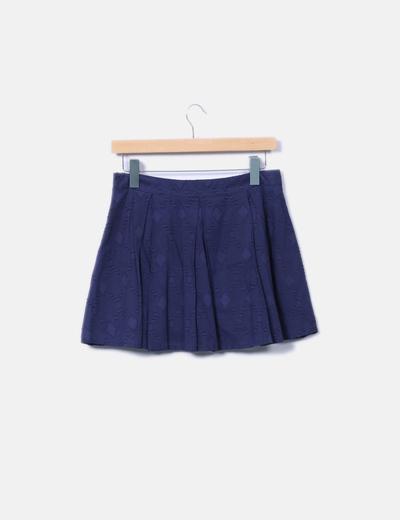 novísimo selección seleccione para genuino mejor coleccion Minifalda tablas azul marino