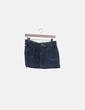 Mini falda denim desflecada New Look