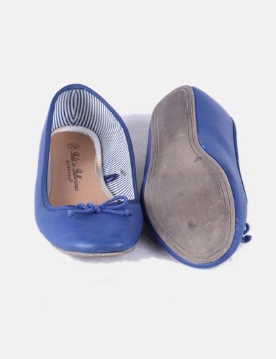 Bailarina polipiel azul