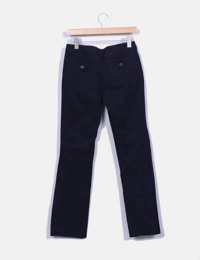 Pantalon azul marino recto