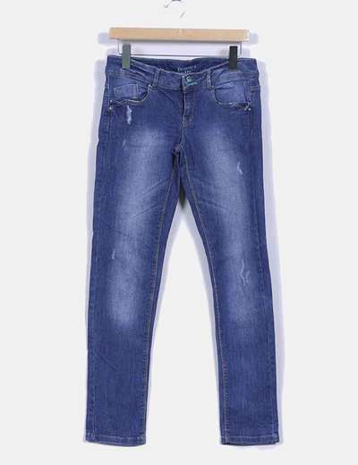 Pantalon  demin oscuro Promod