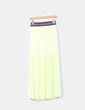 Maxi falda amarilla con strass NoName