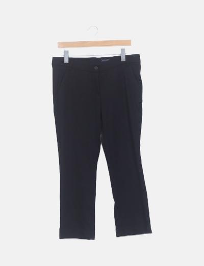 Pantalón negro pirata
