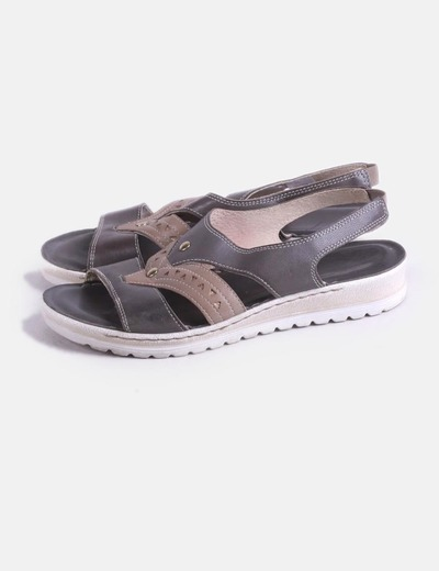 Gray sandals combined NoName