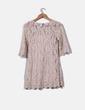 Vestido semitransparente de encaje H&M