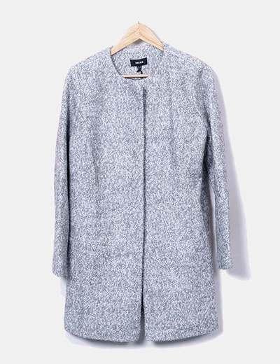 Manteau gris de laine Mexx