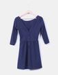 Vestido azul marino Stradivarius