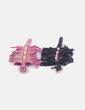 Conjunto de dos pulseras con flecos Bimba&Lola