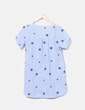 Blusa de rayas con bordados de estrellas Ya Wei