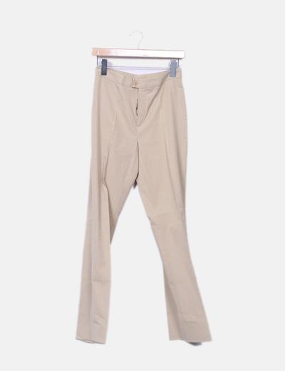 Pantalons beiges palazzo Lasserre