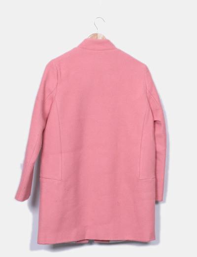 Abrigo pano rosa