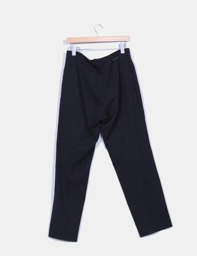 Pantalon negro recto