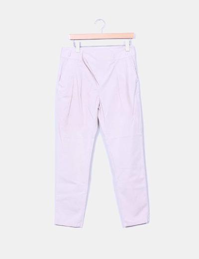 Pantalón baggy rosa Zara