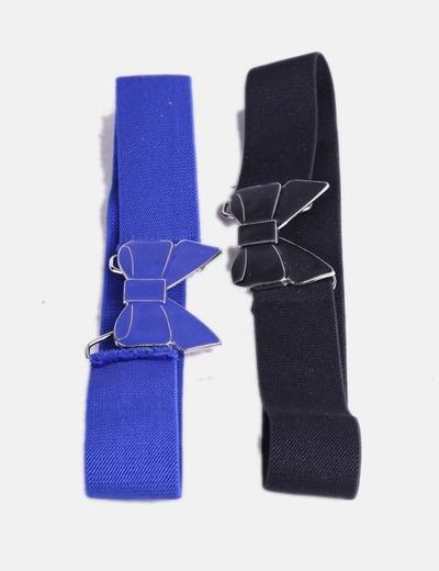 Belted pack 2 avec motif cravate NoName