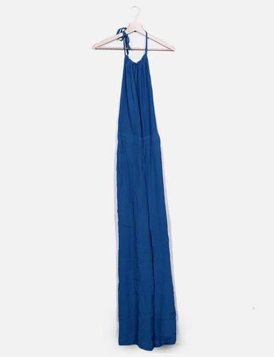 Mono largo azul tirantes