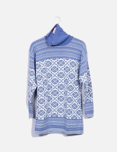 Robe multi-couleurs deux en tricot C&A