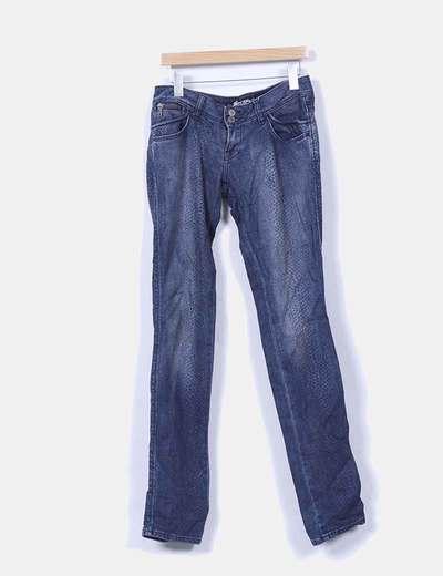Jeans denim animal print Zara
