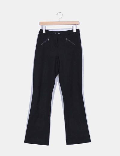 Pantalón negro Mango