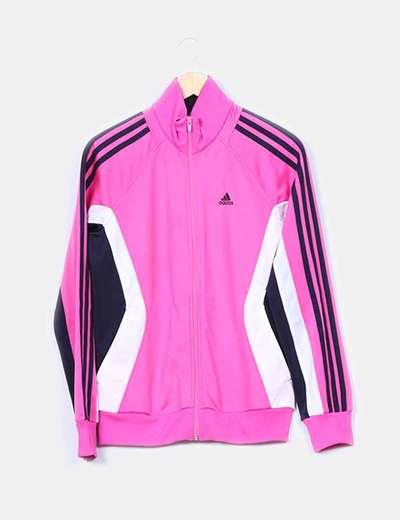 sudaderas adidas rosa